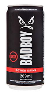 BadBoy Power Drink com novas embalagens