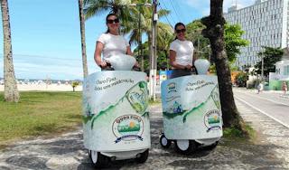 Águas Ouro Fino promove refrigerante Fresh
