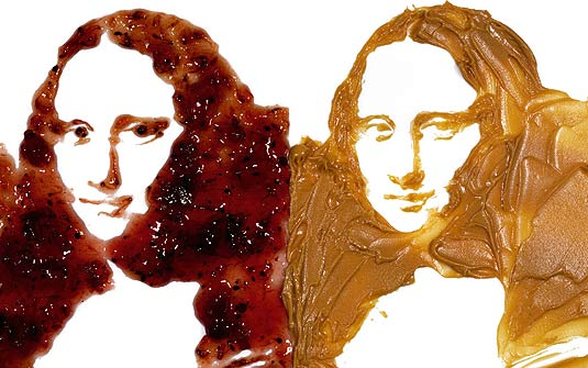 [monalisa+leonardo+da+vince+geleia+e+pasta+de+amendoim.jpg]