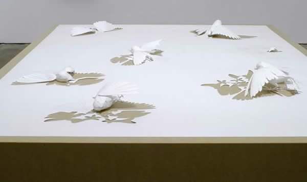 paper art 10 - Mind boggling paper crafts