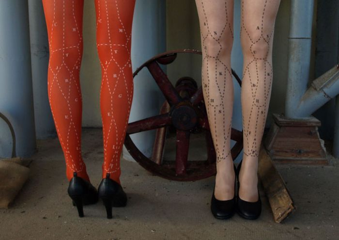 Tights for women: attracting attention