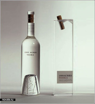 bottle of vodka