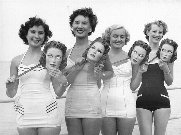 vintage swim suit