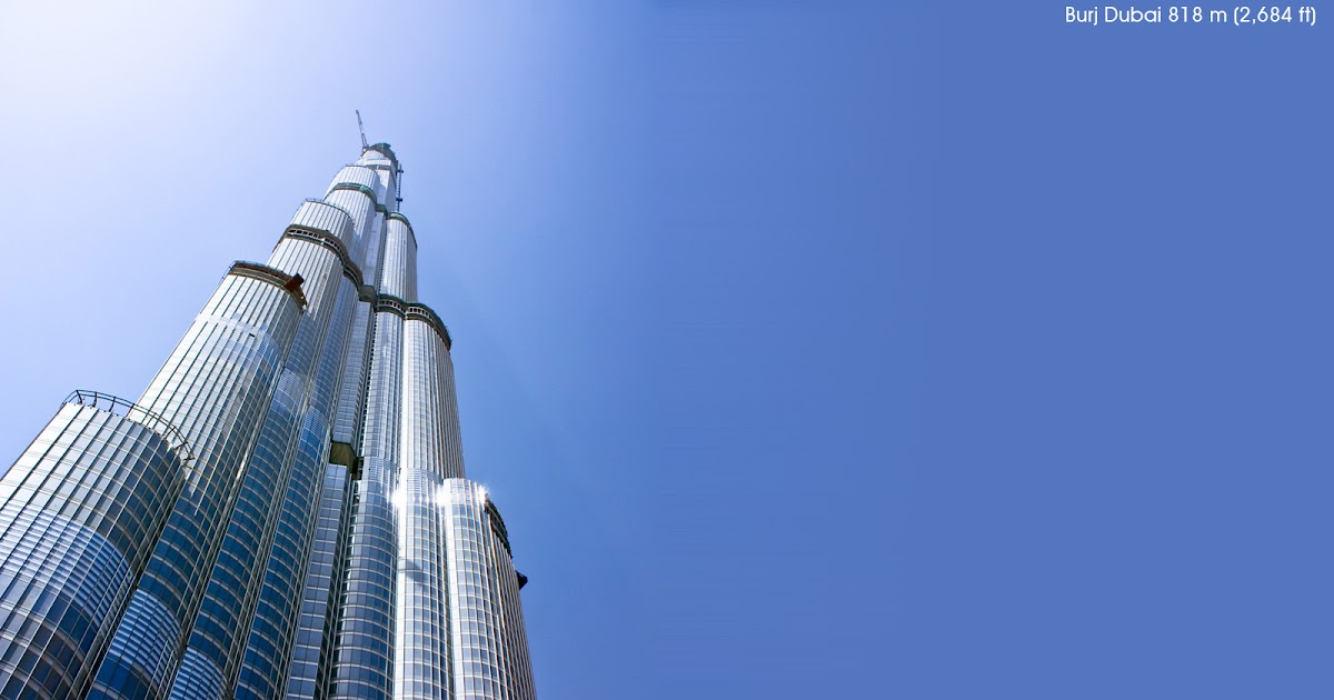 7 Awesome Burj Dubai [Tallest Building In The World