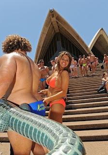 Word's Largest Swimwear Parade (Sydney Australia)