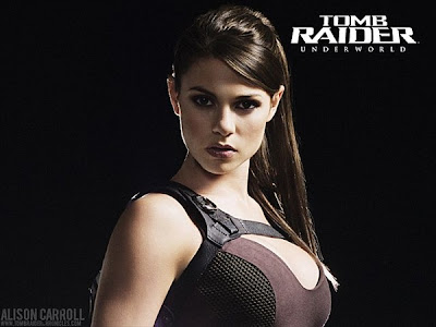 new lara croft tomb raider - alison carroll