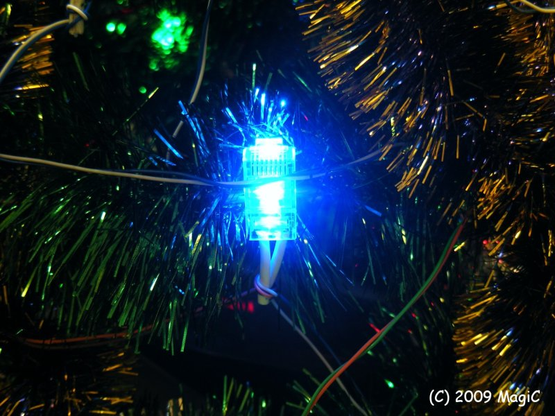 Techno Christmas Tree