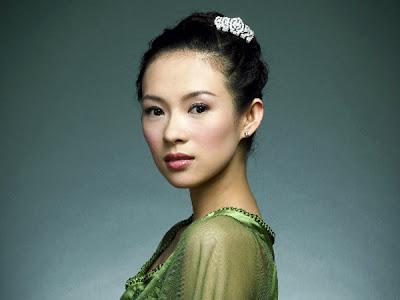 Ziyi Zhang 10 Wanita Asia  Paling Seksi