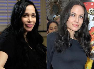 Ibu itu Mirip Artis Papan Atas Gan, Angelina Jolie