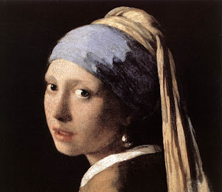 girl wirh a pearl earring by Jan Vermeer