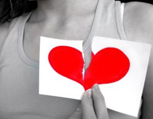 corazones rotos de amor. imagenes de corazones rotos