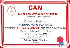 CLUBE DOS ADVOGADOS DE NITERÓI - (ABR/09)