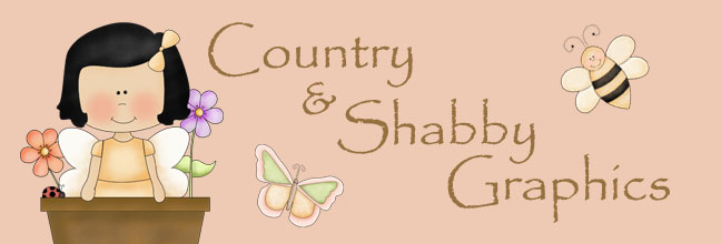Country & Shabby Graphics