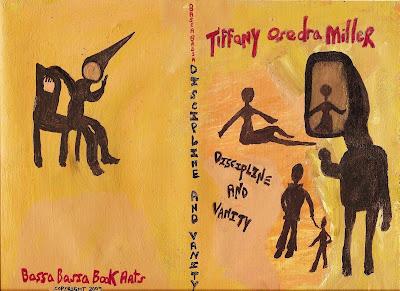 book jacket, art, Tiffany Osedra Miller, poetry, discipline, vanity, silhouettes