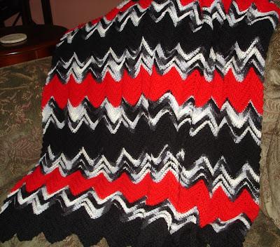 Triple Ripple Crochet Afghan Pattern | AllFreeCrochet.com