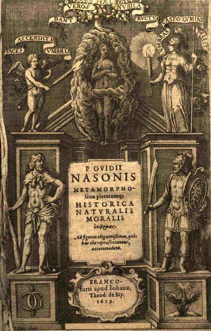 Edición ilustrada de Ovidio de Matthaeus Merian  (1593-1650), Frankfurt 1619