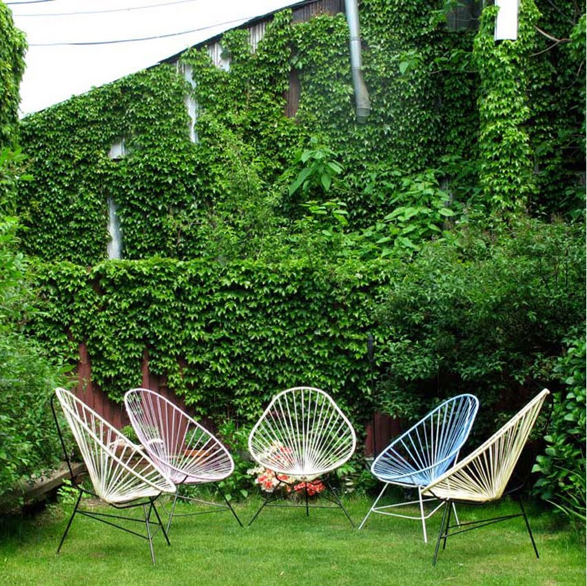 Fryd design acapulco chair love for Arreglar un jardin abandonado