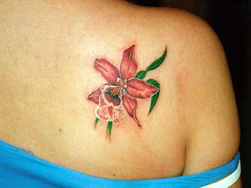 Small Flower Tattoo Designs for Women