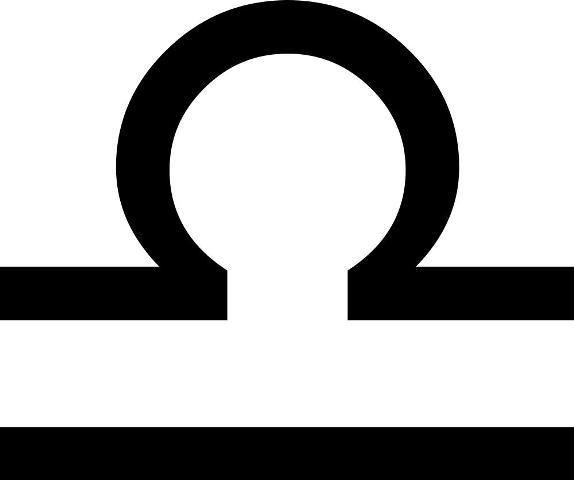Zodiac Design: Libra Zodiac Symbols