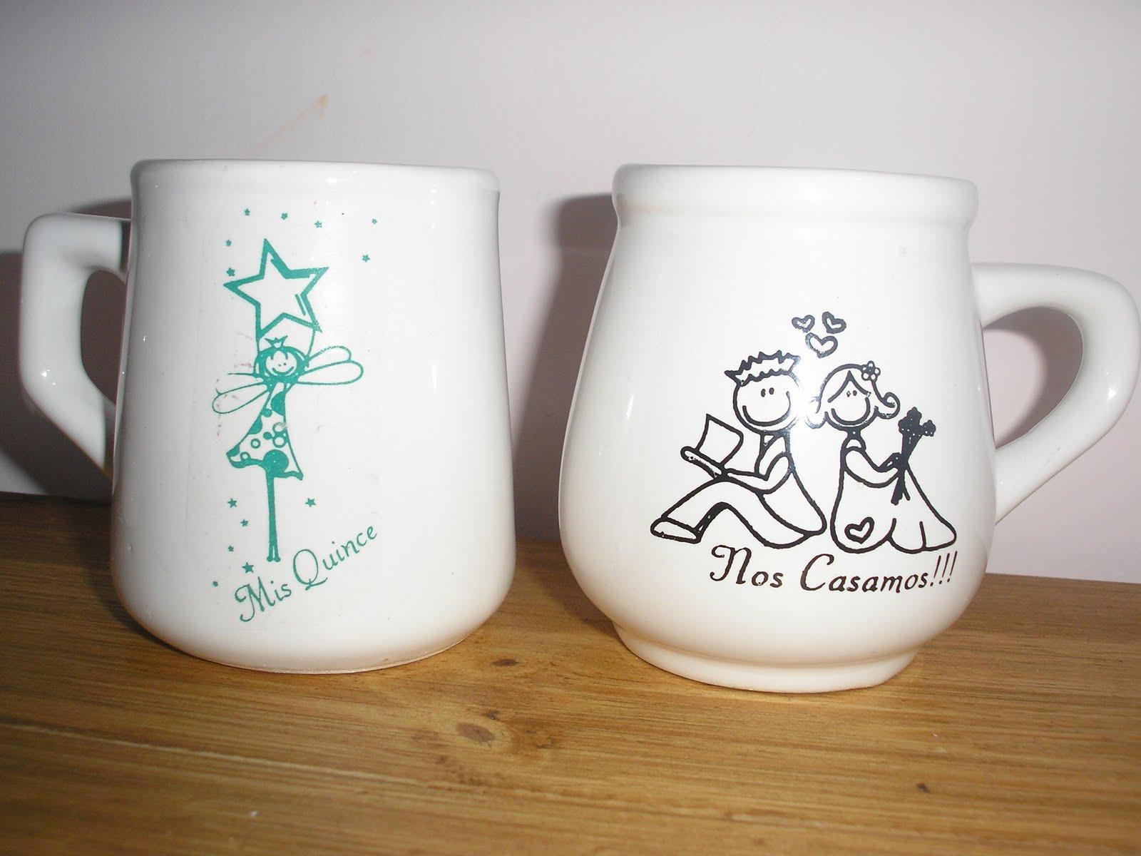 Tazas de ceramica y vajilla especiales y personalizadas - Ceramica decoracion ...
