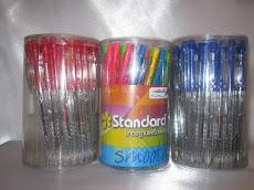 ปากกาลูกลื่น(STANDARD)กล่อง50ด้าม
