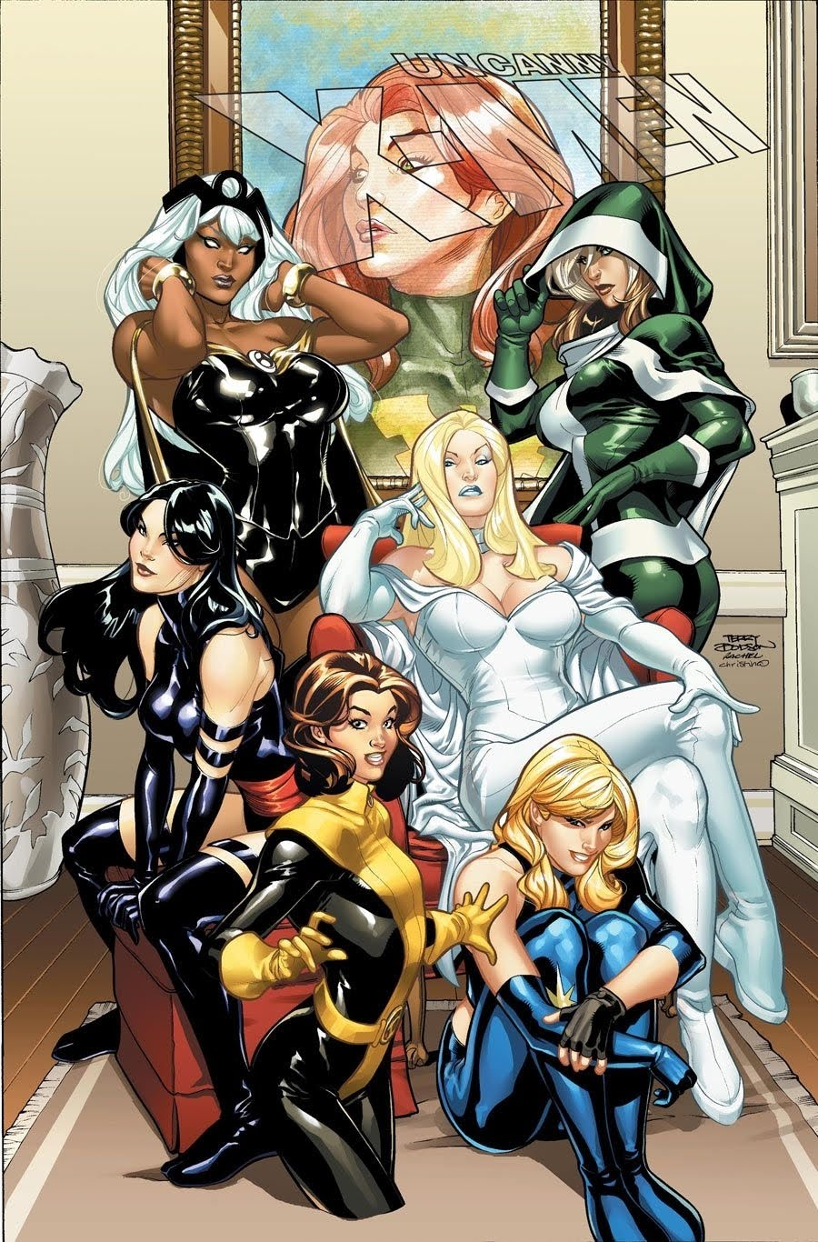 X Men Characters Female Off My Bird Chest: Won...