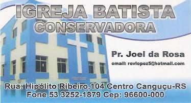 Essa  é a nossa Igreja em Canguçu