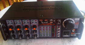 Power Amplifier + Mixer 250W