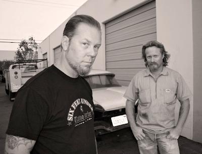 The Widowmaker is a collaborative project between rock legend James Hetfield