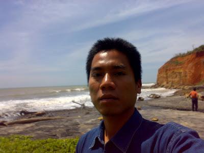 Trip to Bengkulu Province, bengkulu beach, Sumatera.