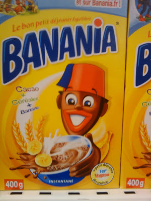 banania! racist product packaging