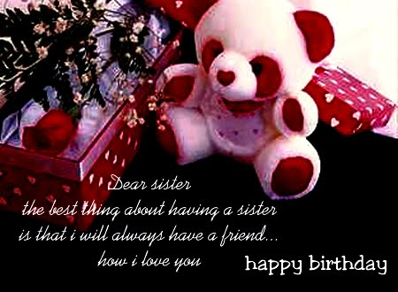 birthday wishes quotes for sister. happy irthday wishes quotes