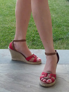 Payless shoes; wedge espadrilles; red espadrilles' payless espadrilles; platform espadrilles