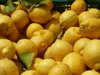 lemons; Santa Monica farmers market