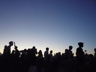 Coachella 2009 sunset