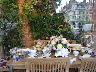 Peter Jones windows; Chelsea flower show
