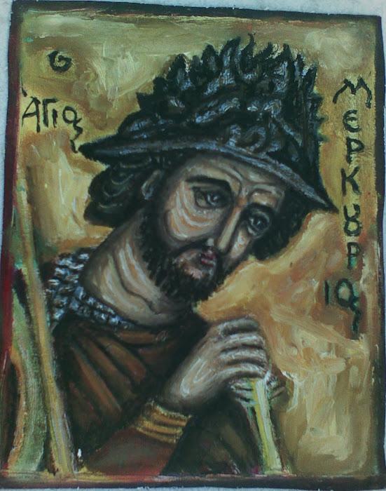 Ο Αγιος  Μερκουριος