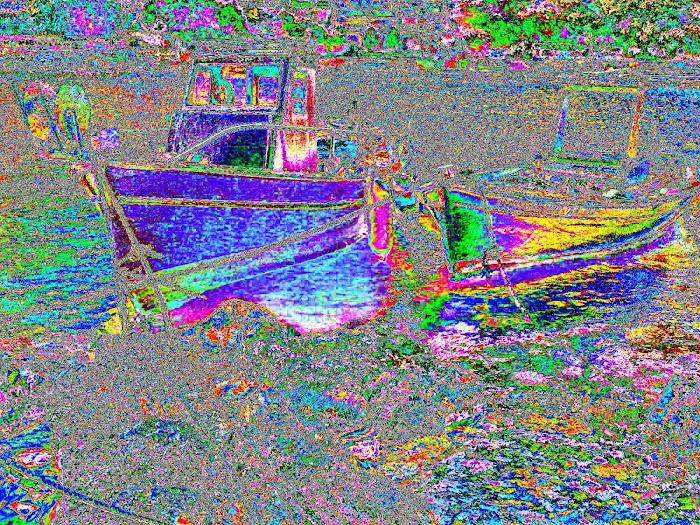 Sea - boats icones [ Αστακος Ακαρνανιας ]