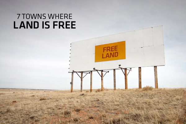 House builders guide 7 towns where land is free for Is there still a homestead act
