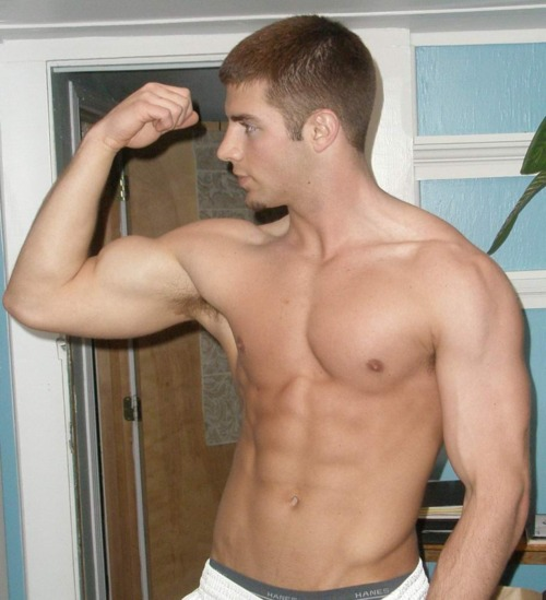 from Ryker auto bicep car gay gun muscle