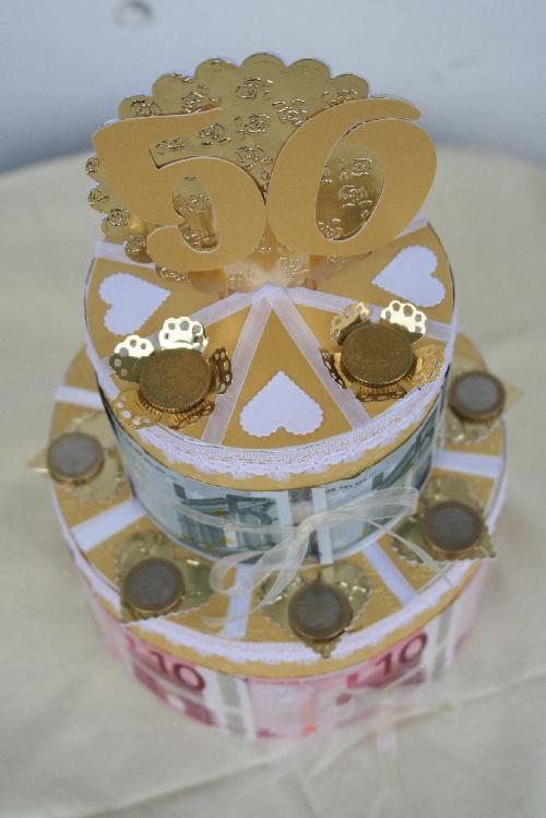 meine Schwiegermama wollte den Beiden Geld zur Goldenen Hochzeit ...