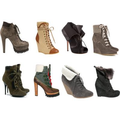 Footwear Trend f/w 2010 – Tendencias zapatos para otoño invierno 2010