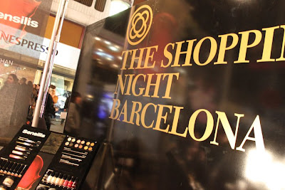 Barcelona Shopping Night the day after