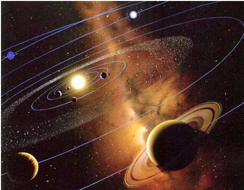 Resultado de imagen de El nacimiento del sistema solar