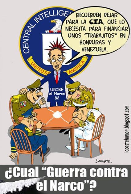 """¿Cual """"lucha contra el narcotráfico""""?"""