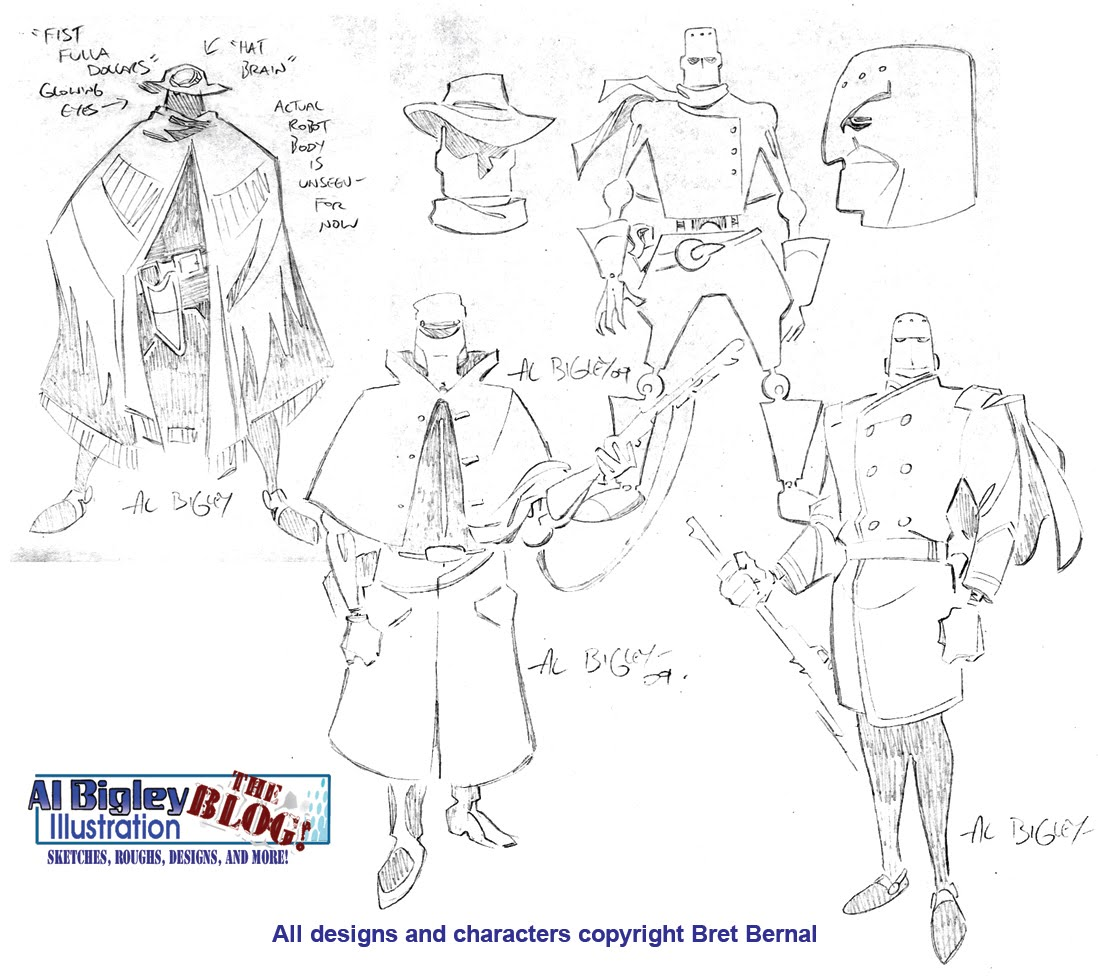 Character Design Engine : Al bigley illustration the tao boy character designs