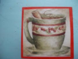 caixinha pra por chá, canelinhas....