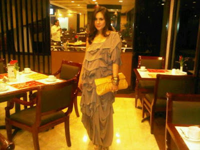 Wulan Guritno is seven months pregnant
