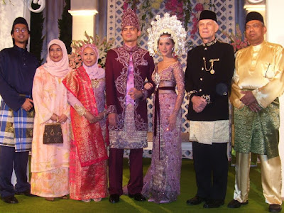 The wedding reception at Sultan Hotel - BCL Ashraf Sinclair