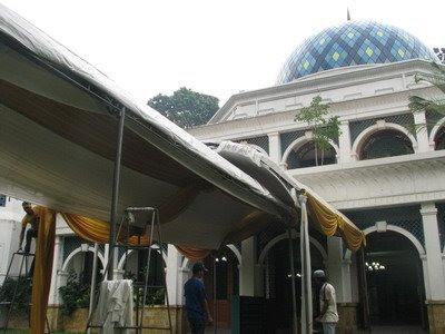 lokasi pernikahan Bunga Citra Lestari & Ashraf
